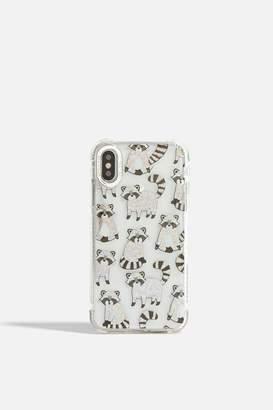Skinnydip Skinny Dip Womens **Disco Raccoon Shock Case - Iphone X/Xs By Silver