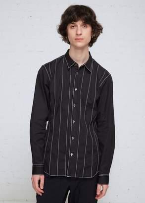Comme des Garcons Contrast Stitch Long Sleeve Shirt