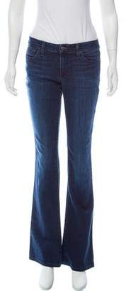 Joe's Jeans Flared Mid-Rise Jeans