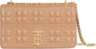 Burberry Small Soft Leather Crossbody Bag in Soft Camel | FWRD