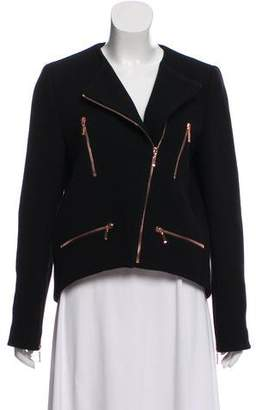 Cédric Charlier Wool Casual Jacket