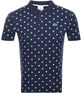 Lacoste Live Ultra Slim Fit Polo T Shirt Navy