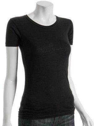 Nation LTD black cotton crewneck basic t-shirt