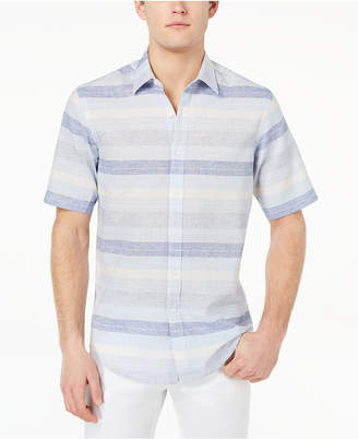 Club Room Men's Merritt Stripe Shirt, Created for Macy's