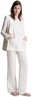 Max Studio linen tailored jacket