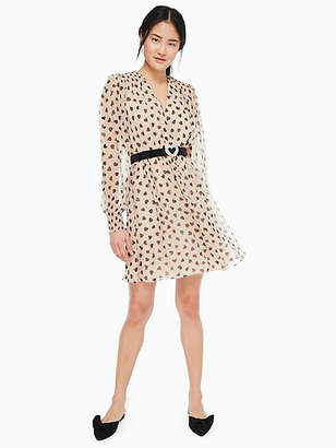 Kate Spade Heartbeat silk mini dress