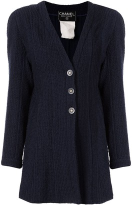 Chanel Pre-Owned 1994 CC button cardigan