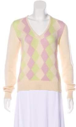 Loro Piana Cashmere Argyle Sweater