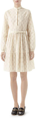 Gucci Micro GG Babydoll Dress