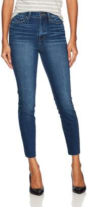 Paige Women's Margot Crop with Raw Hem Jeans