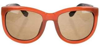 Linda Farrow The Row x Gradient Square Sunglasses