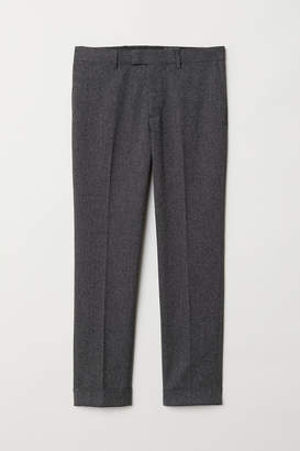 Marled suit trousers Slim Fit