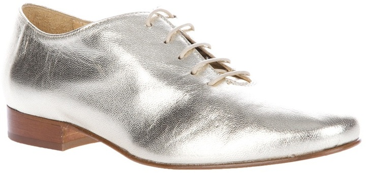Labour Of Love gold-tone tap shoes