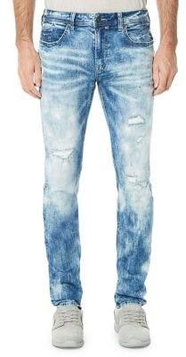 Buffalo David Bitton Ash Distressed Jeans