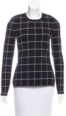 Derek Lam Checkered Knit Sweater