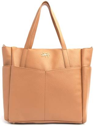 Freshly Picked Classic Water Repellent Faux Leather Diaper Tote