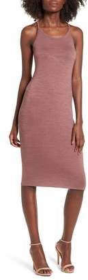 Leith Melange Body-Con Dress