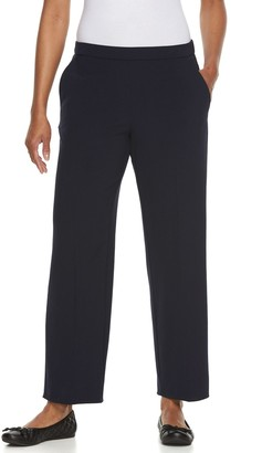 Croft & Barrow Petite Solid Pull-On Dress Pants