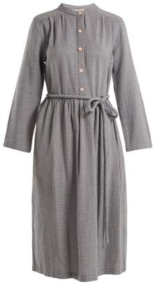 Ace&Jig Belted Cotton Dress - Womens - Blue White