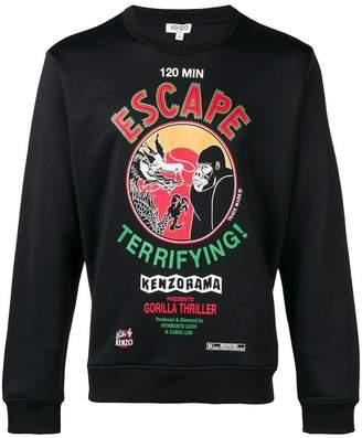 Kenzo Escape round neck sweatshirt