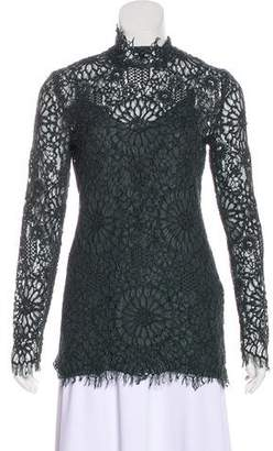 By Malene Birger Long Sleeve Lace Top