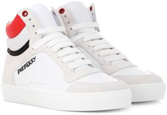 Burberry Leather high-top sneakers