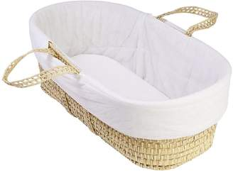 Clair De Lune Quilted Moses Basket Liner