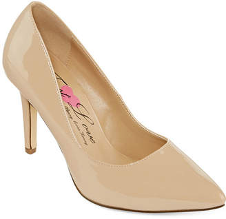 Penny Loves Kenny FIRST LOVE BY First Love Paris Patent Pumps - Wide Width