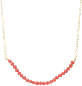 3.1 Phillip Lim Bits Mini Beaded Optimist Bar Necklace