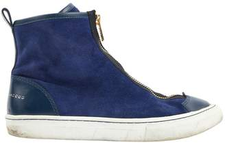 Marc by Marc Jacobs Blue Suede Trainers