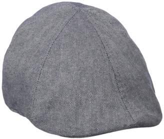 U.S. Polo Assn. Men s Herringbone Ivy Flat Cap 2cc6a1c7d85b