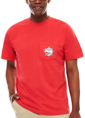 BISCAYNE BAY Biscayne Bay Short-Sleeve Pocket Jersey Tee