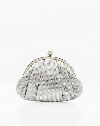 Le Château Jewel Embellished Satin Pouch