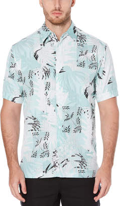 Cubavera Tropical Dobby Print Shirt