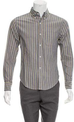 Band Of Outsiders Striped Casual Shirt