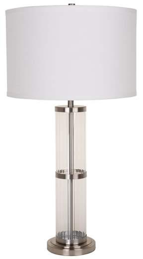 Jalexander Lighting JAlexander Ribbed Glass Table Lamp