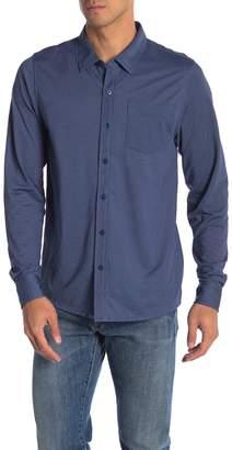 Travis Mathew Trip Knit Long Sleeve Shirt