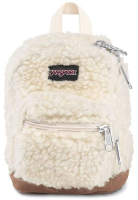 JanSport Soft Tan Sherpa Right Pouch
