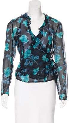 Ungaro Silk Wrap Top