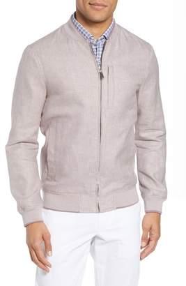Ted Baker Raney Trim Fit Linen & Cotton Jacket