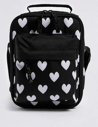"Marks and Spencer Kids' Heart Print Lunch Box with Thinsulateâ""¢"