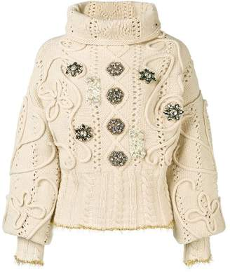 Antonio Marras embellished jumper