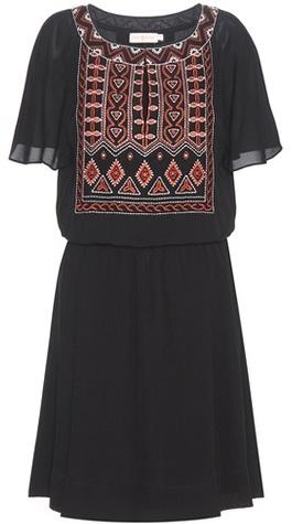 Tory BurchTory Burch Bristol embroidered crêpe dress