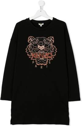 Kenzo TEEN Tiger embroidered T-shirt