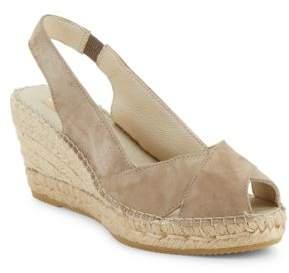 Vidorreta Sandra Crisscross Espadrille Wedge Sandals $149 thestylecure.com