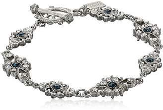 Downton Abbey Boxed Silver-Tone Crystal Link Bracelet