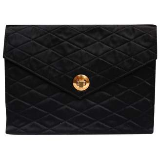 Chanel Vintage Black Silk Clutch bagsus_categorie1_en