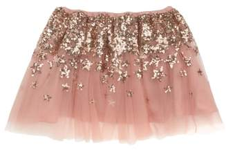Wild & Gorgeous Pink Sequin Tulle Skirt