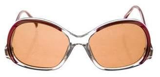 Rochas Oversize Tinted Sunglasses