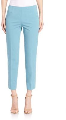 Lafayette 148 New York Cropped Bleecker Pants $328 thestylecure.com